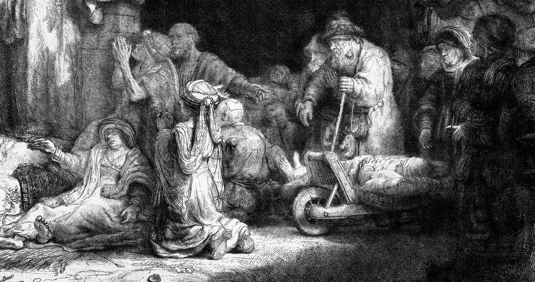 Rembrandt-Cent florins-Les pauvres.png
