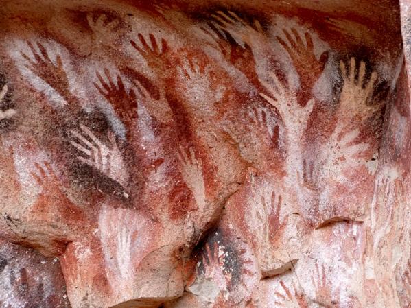 Argentine- Perito Moreno-Cueva de los manos 13000ans.jpg