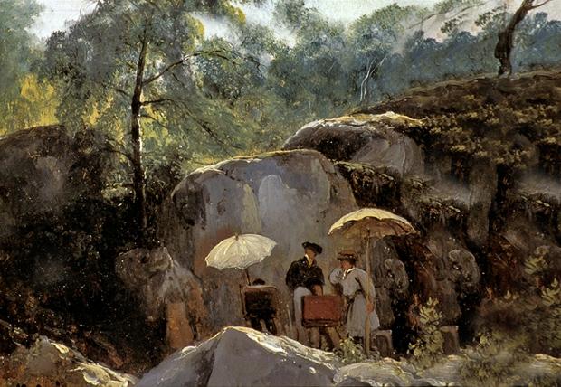 Cogniet-peintre en forêt 14548.jpg