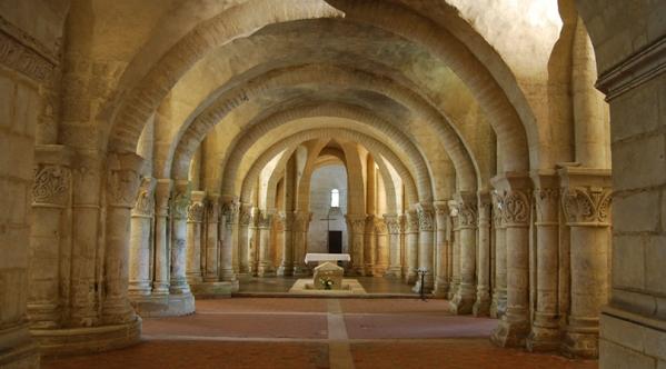 Saintes-Crypte St Eutrope 023