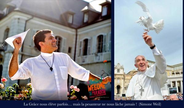 Arnaud Bonnassies et le Pape1 copie.jpg