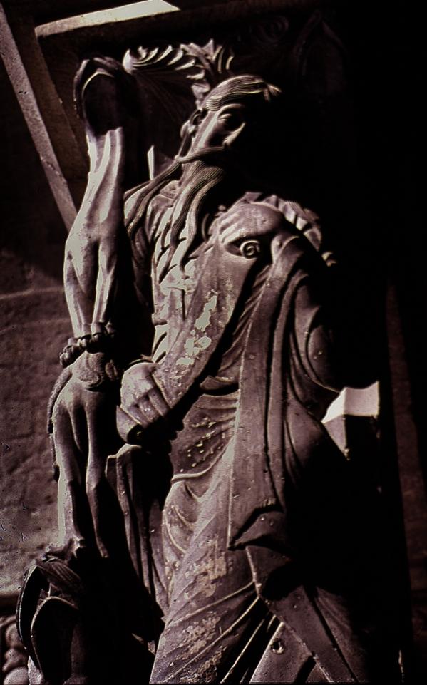 Moissac-Prophète trumeau