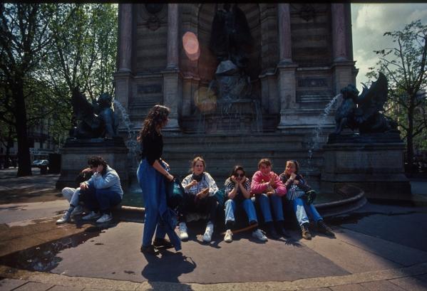 fontaine st Michel copie