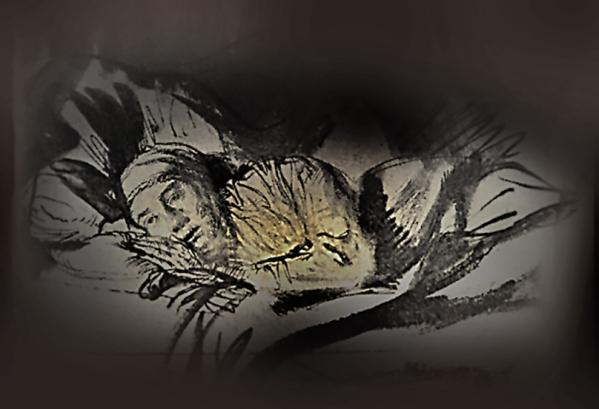 Rembrandt-Saskia maladeN33 (1)