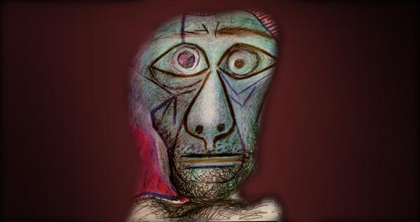 Picasso-dernier autoportr722N copie