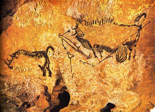 -18 000 -15 000 Grottes de Lascaux, Ensemble de la scene du puits copie.jpg